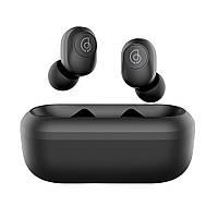 Беспроводные Bluetooth наушники Haylou GT2 с зарядным чехлом (Черный), фото 1
