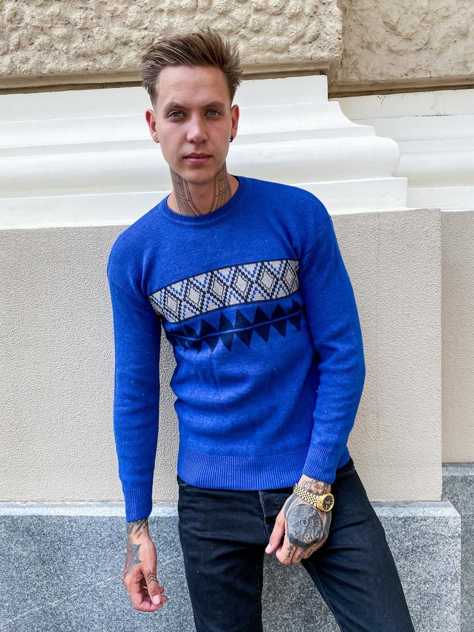 9905-5 Triko свитер мужской вязаный (универсал, 2 ед.)