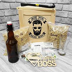 """Необычный подарок начальнику, шефу, руководителю, боссу - """"Пивовар"""" 🍺 (Код BFM-4112)"""
