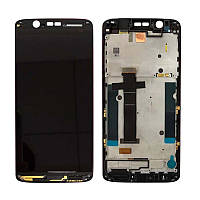 Дисплей (LCD) ZTE Axon 7 mini | B2017 | B2017g Amoled с тачскрином и рамкой, черный
