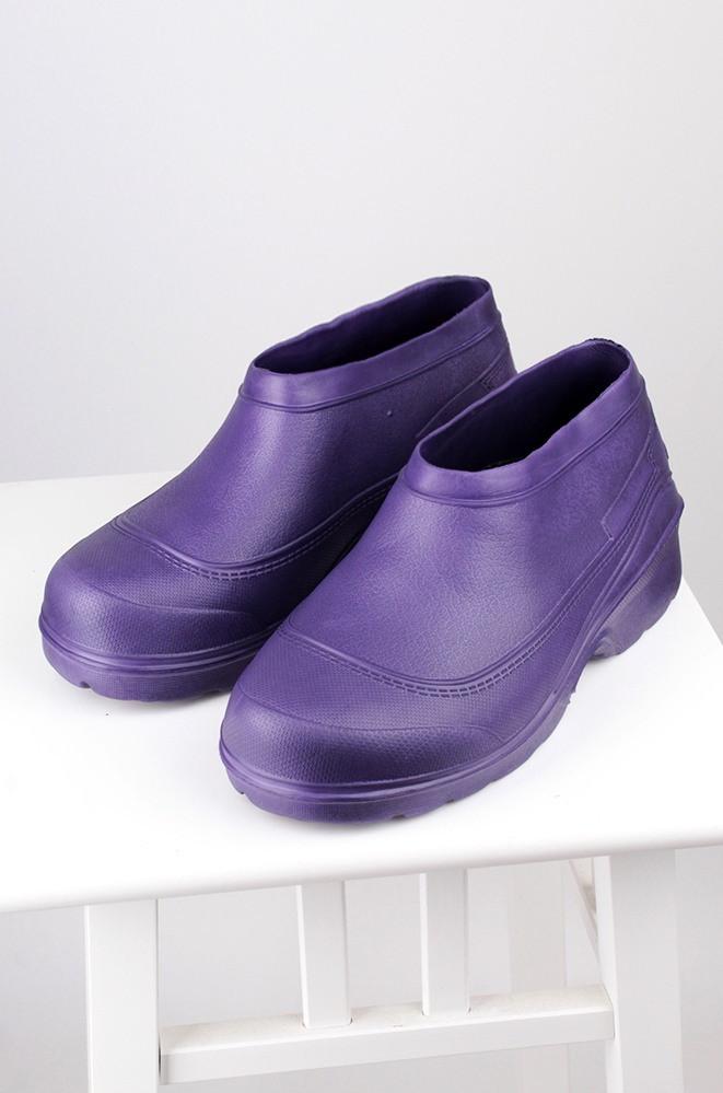 Галоши женские фиолетовые пена Dreamstan ГП-22