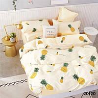 Подростковое постельное белье Вилюта ранфорс 20120 ананасы Подростковый комплект