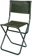 Раскладной стул со спинкой для рыбалки и туризм Rangerа Desna RA 4405 зеленый