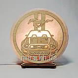 Соляной светильник круглый Мустанг, фото 2