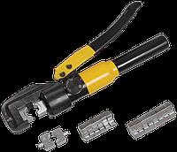 Пресс гидравлический ручной для опрессовки стальных тросов [ПГРс-4т]