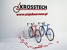 Велопарковка на 4 велосипеды Cross-4 Save Польша, фото 7