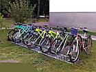 Велопарковка на 4 велосипеды Cross-4 Save Польша, фото 5