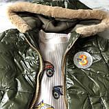 Костюм тройка на мальчика с курточкой 320. Размер 92 см, фото 2