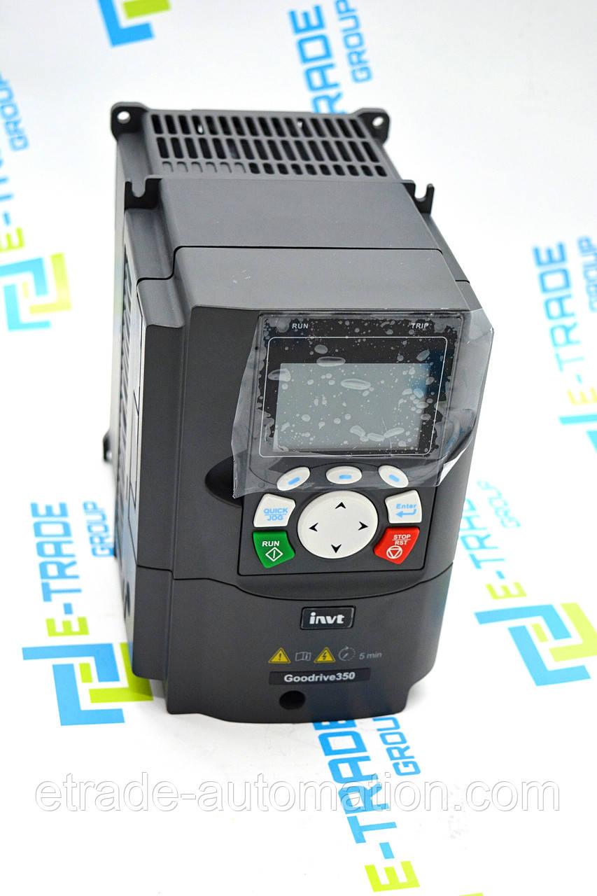 Преобразователь частоты INVT GD300-004G-4