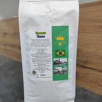 Кофе арабика в зёрнах Бразилия Santos 1кг