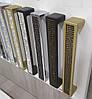 Ручка мебельная Ozkardesler 5303-04/01-011 MADRID 160мм Матовое Золото с черными камнями, фото 3