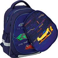 Рюкзак школьный Kite 700 Fast cars K20-700M2p-4 ортопедический