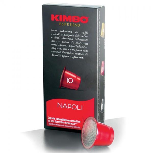 Кофе в капсулах Kimbo Nespresso Napoli 10 (10 шт.), Италия (Неспрессо)