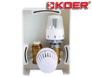 Унибокс для теплого пола Koer KR.3001 RTL+T