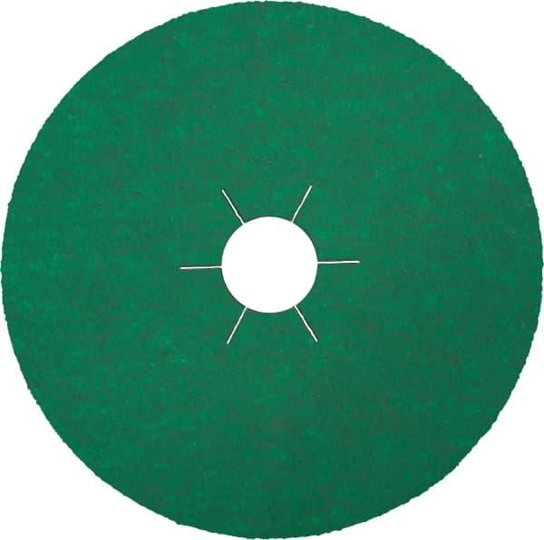 Круг фибровый CS570 125х22 P80 S30 цирконий KLINGSPOR