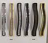 Ручка меблева Ozkardesler ODESSA 5348-04 128мм Матове Золото світлі камені, фото 2
