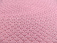 """Ткань стеганка розового цвета """"Ромб"""""""