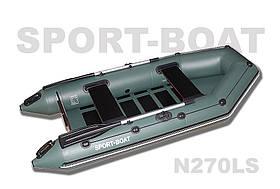 "Моторная лодка со сланевым днищем ""Sport-Boat"" Neptun N270LS, (021-0022)"