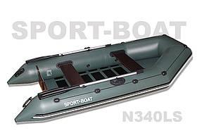 "Моторная лодка со сланевым днищем ""Sport-Boat"" Neptun N340LS, (021-0025)"
