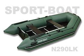 """Надувная моторная лодка с надувным дном """"Sport-Boat"""" Neptun N290LK, (021-0029)"""