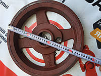 Шків великий 3х ручейный на косарку 1,35 м, фото 1