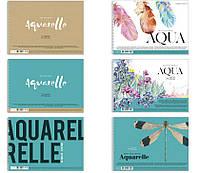 Альбом для акварели MUSE Aquarelle A4 на спирали, плотность бумаги 220 г/м2, 20 листов