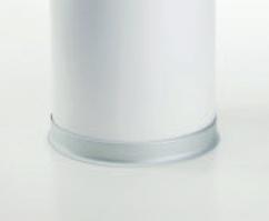 Гибкий плинтус напольный алюминиевый 90FX 10х40 мм