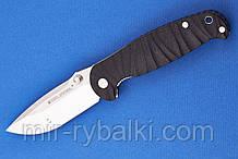 Нож складной H6 grooved black-7785