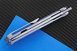 Нож складной S3 puukko flipp sky purp-9522, фото 3
