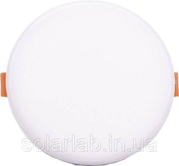 Панель стельова врізна LED V-TAC, 24W, SKU-740, Samsung CHIP, 230V, 4000К, кругла, діаметр 223mm