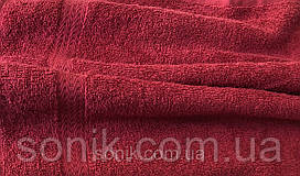 Рушник махровий червоне 50*90