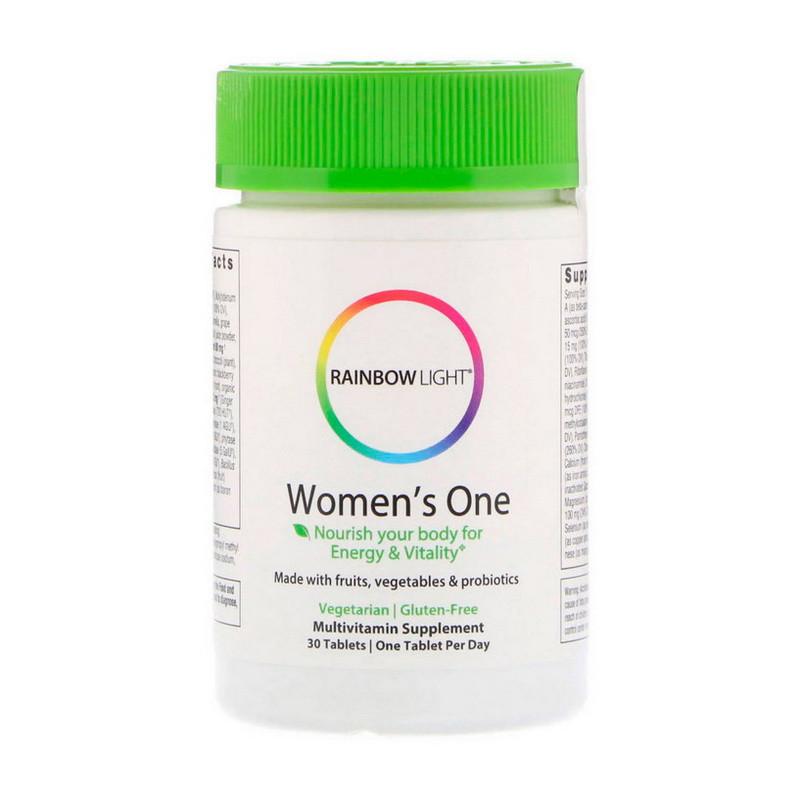 Комплекс витаминов для женщин Rainbow Light Women's One 30 tab