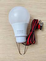 Светодиодная лампа 9Вт, 12В ( переноска) 800Lm
