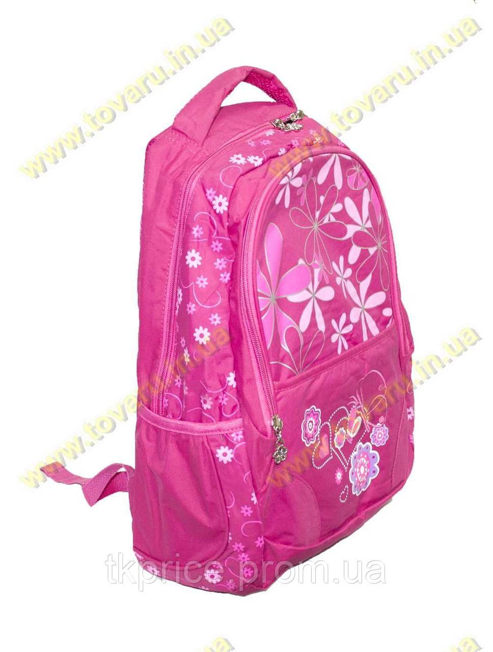 Школьный рюкзак для девочки розовый 1825
