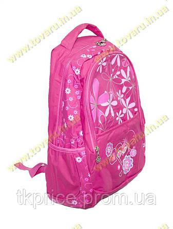 Школьный рюкзак для девочки розовый 1825, фото 2