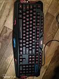 Набор 2 в 1: Игровая клавиатура M200 с подсветкой + Мышка с подсветкой (Английские буквы на клавиатуре), фото 7