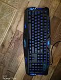 Набор 2 в 1: Игровая клавиатура M200 с подсветкой + Мышка с подсветкой (Английские буквы на клавиатуре), фото 4