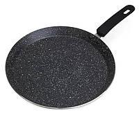 Сковорода блинная Kamille Crepe Pan Marble Ø26см с мраморным покрытием, фото 1