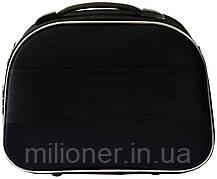 Комплект чемодан + кейс Bonro Style (небольшой) черно-зеленый, фото 3