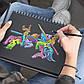 Альбом / скетчбук с черной бумагой Sketch block  А5 120 г/м2, 30 листов на спирали, BL 5130, фото 4