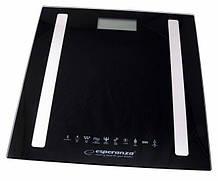 Весы напольные Esperanza EBS016K B.Fit 8 в 1, черные