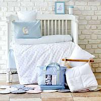 Детский набор в кроватку для младенцев Karaca Home Dreamer ментоловый (7 предметов)