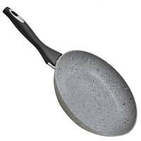 """Сковорода литая Besser  покрытие """"Granite"""" с индукционным дном 24 см"""