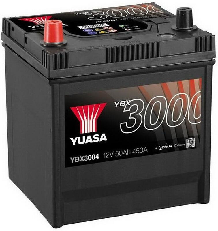 Yuasa 12V 50Ah SMF Battery Japan (1)