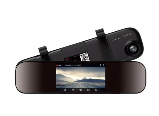 Видеорегистратор Xiaomi 70Mai Rearview Mirror Dash Cam D04 Black