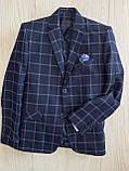 Пиджак для мальчика 6-10 лет, фото 2