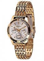 Жіночі наручні годинники Guardo B01106(m) GW Золотистий