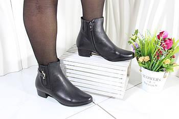 Удобные ботинки на низком каблуке Battine B559