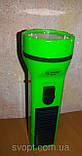 Фонарь лед аккумуляторный с солнечной панелью, фото 2