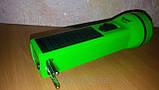 Фонарь лед аккумуляторный с солнечной панелью, фото 4